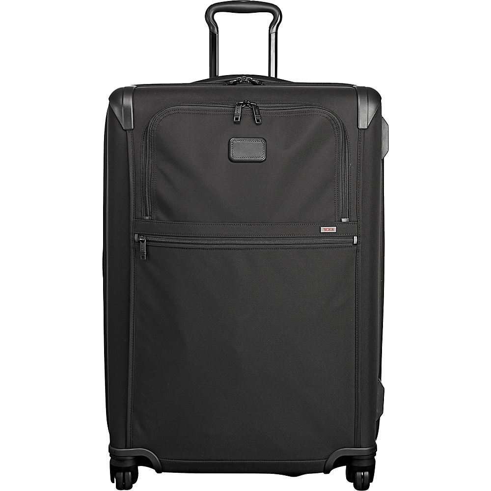 Tumi Alpha 2 Medium Trip Expandable 4 Wheeled Packing Case Black - Tumi Softside Checked