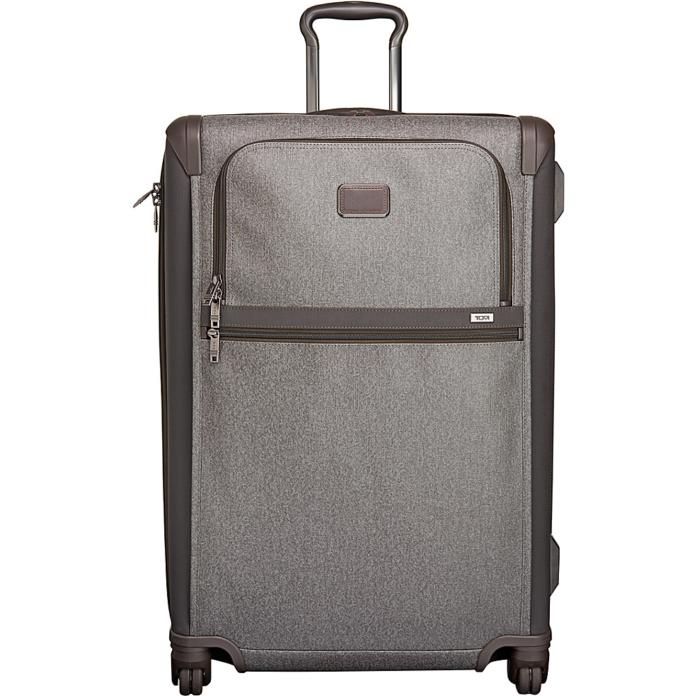 Tumi Alpha 2 Medium Trip Expandable 4 Wheeled Packing Case Earl Grey - Tumi Softside Checked