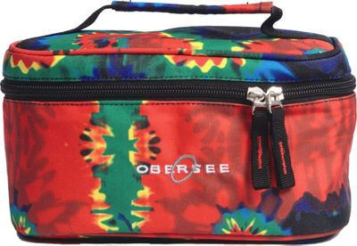 Obersee Kids Toiletry and Accessory Train Case Bag Tie Dye - Obersee Toiletry Kits 10295689