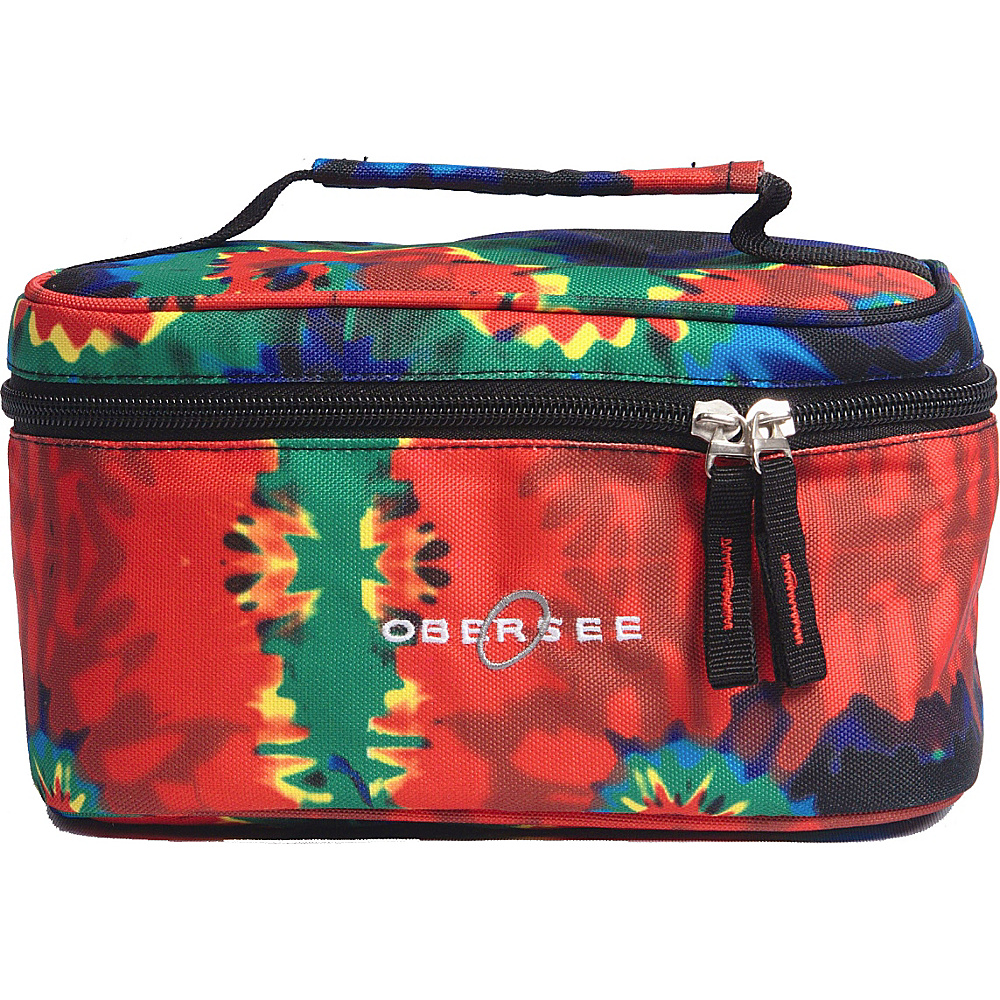 Obersee Kids Toiletry and Accessory Train Case Bag Camo - Obersee Toiletry Kits