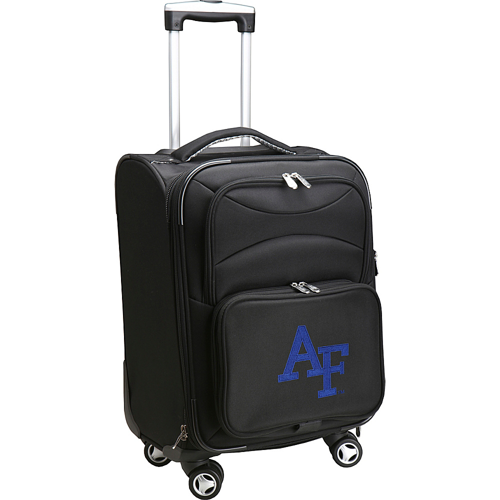 Denco Sports Luggage NCAA US Air Force Academy 20 Domestic Carry-On Spinner Black - Denco Sports Luggage Softside Carry-On - Luggage, Softside Carry-On
