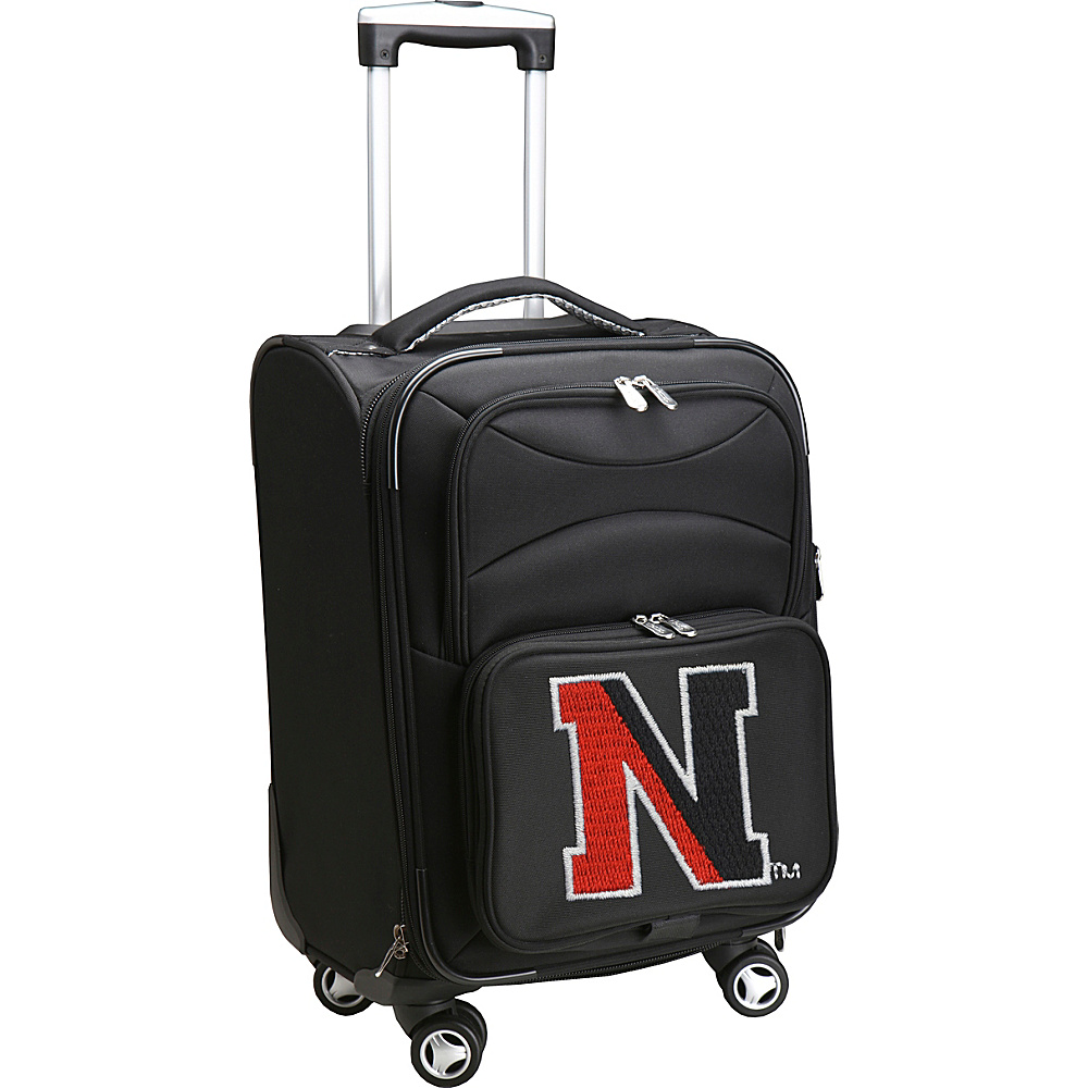 Denco Sports Luggage NCAA Northeastern University 20 Domestic Carry-On Spinner Northeastern University Huskies - Denco Sports Luggage Softside Carry-On - Luggage, Softside Carry-On