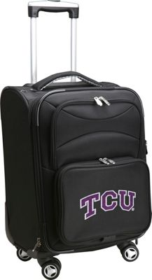 "Denco Sports Luggage NCAA Texas Christian University 20"""" Domestic Carry-On Spinner Texas Christian University Horned Frogs - Denco Sports Luggage Softside Carry-On"