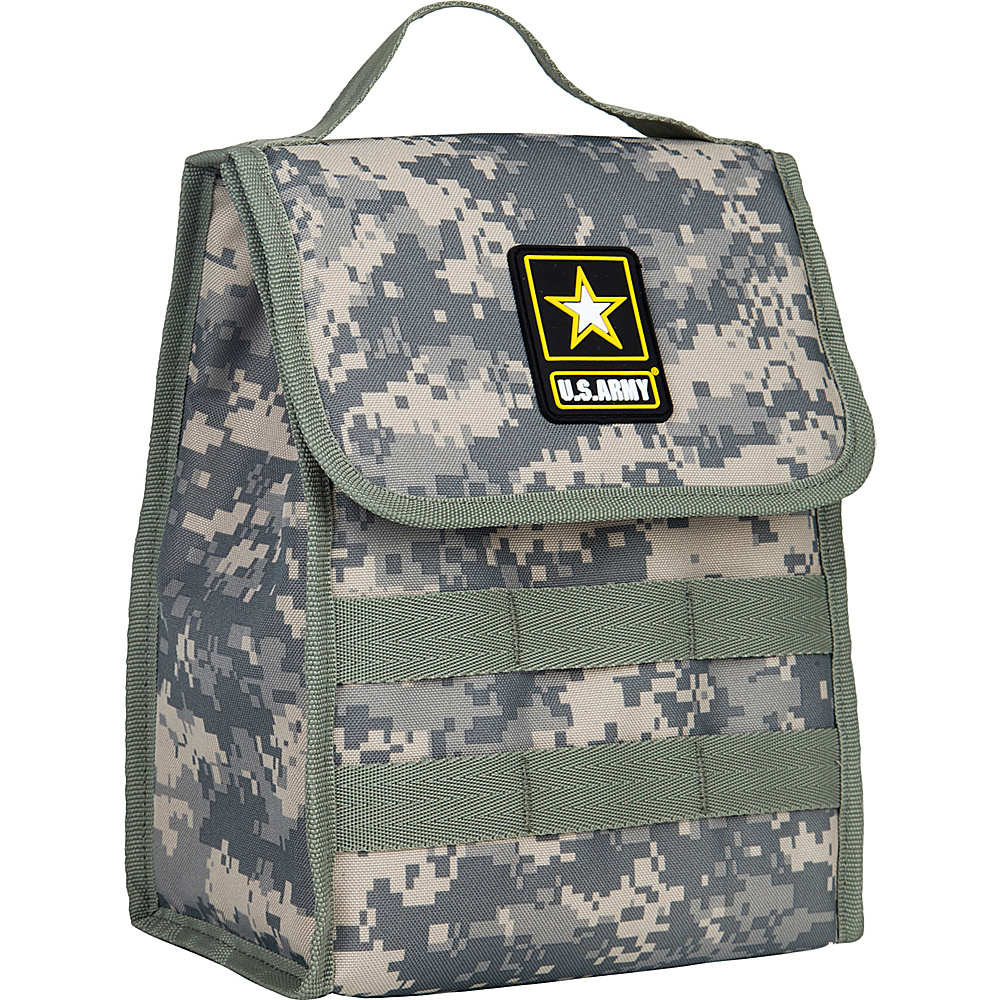 Wildkin U.S. Army Stash Lunch Bag U.S. Army - Wildkin Travel Coolers