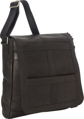 royce leather vaquetta vertical 16 inch laptop messenger