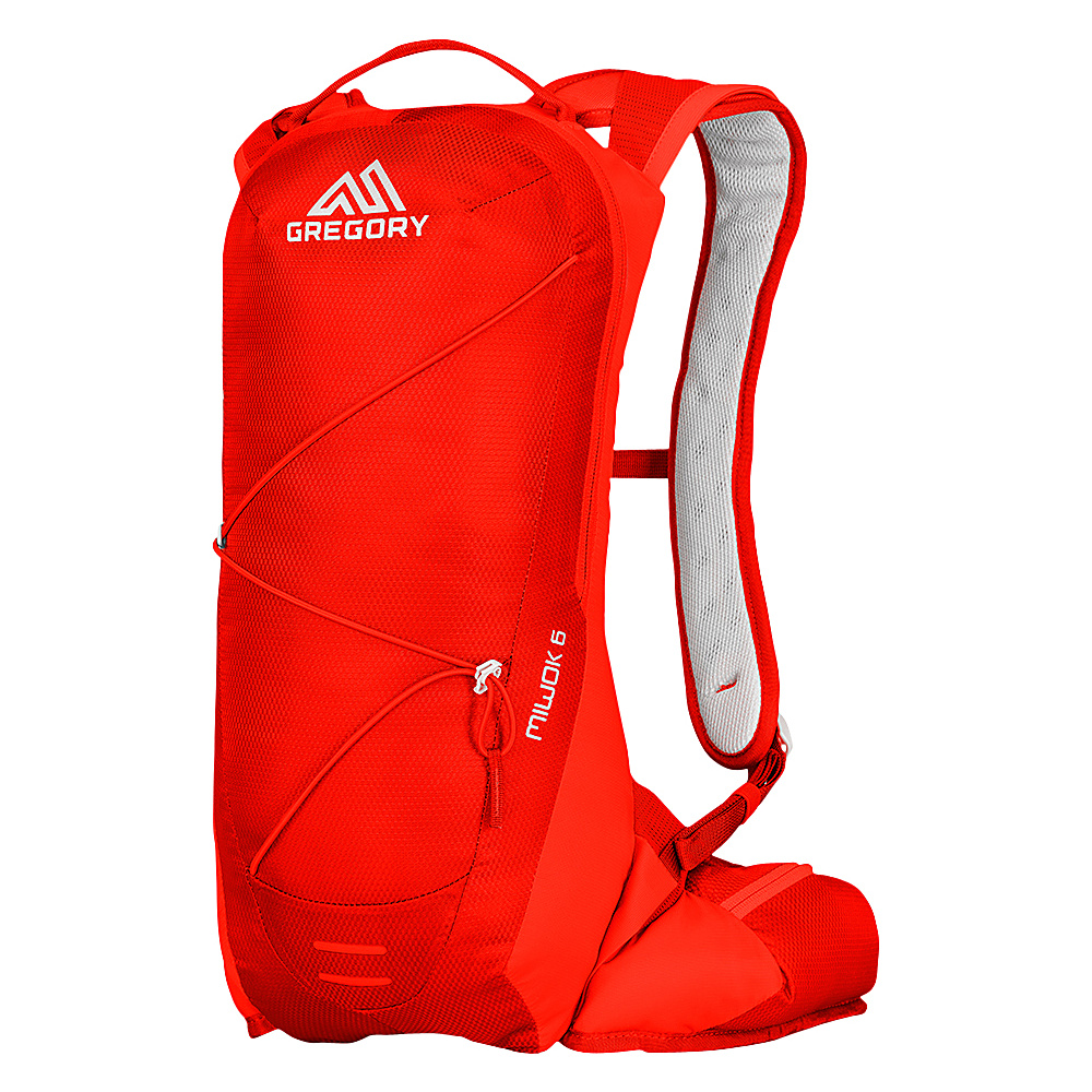 1c888c5929e1 Gregory Miwok 6 Hiking Backpack Citrus Red - Gregory Day Hiking Backpacks -  Outdoor