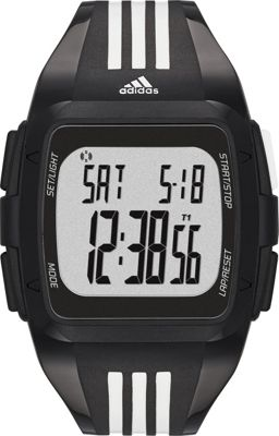 adidas watches adidas watches Duramo Men's Watch Black with Grey - adidas watches Watches