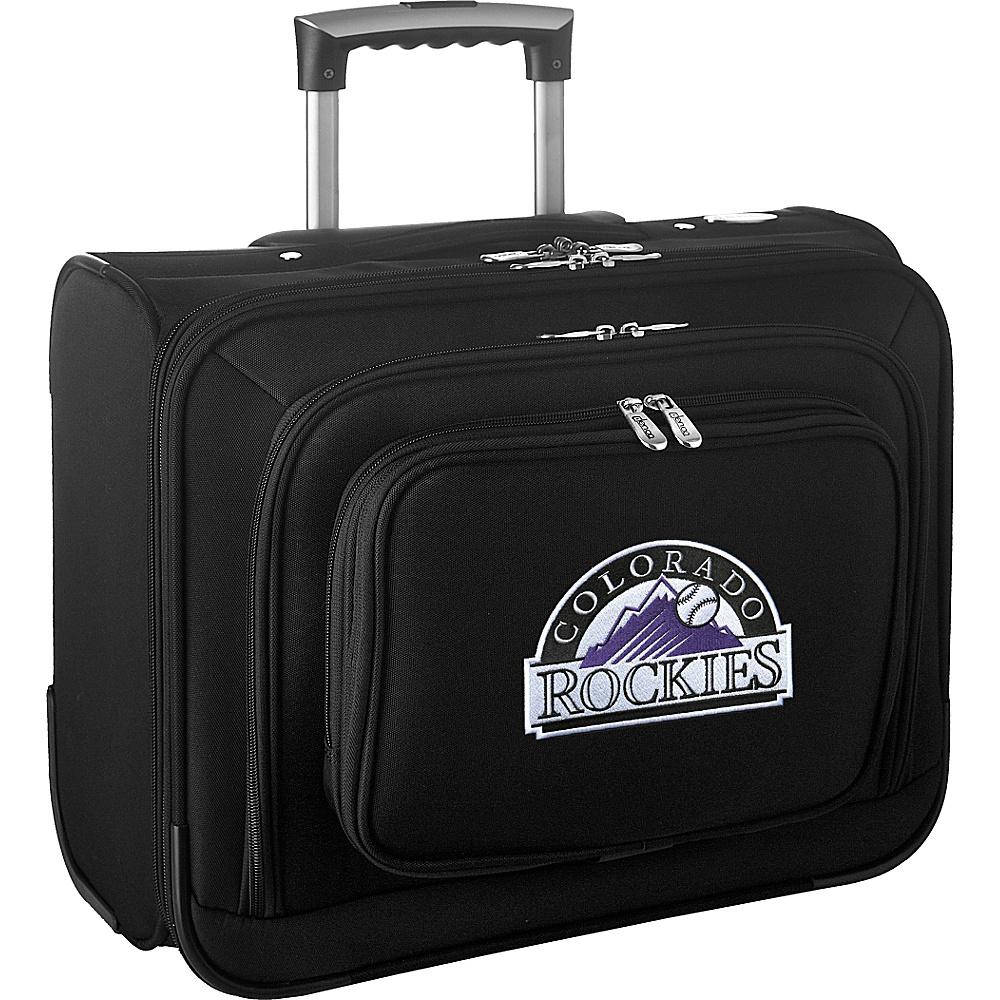 Denco Sports Luggage MLB 14 Laptop Overnighter Colorado Rockies - Denco Sports Luggage Wheeled Business Cases - Work Bags & Briefcases, Wheeled Business Cases