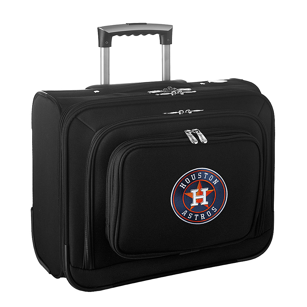 Denco Sports Luggage MLB 14 Laptop Overnighter Houston Astros - Denco Sports Luggage Wheeled Business Cases - Work Bags & Briefcases, Wheeled Business Cases