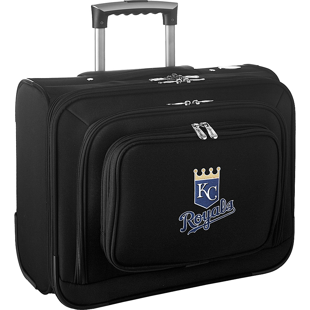Denco Sports Luggage MLB 14 Laptop Overnighter Kansas City Royals - Denco Sports Luggage Wheeled Business Cases - Work Bags & Briefcases, Wheeled Business Cases