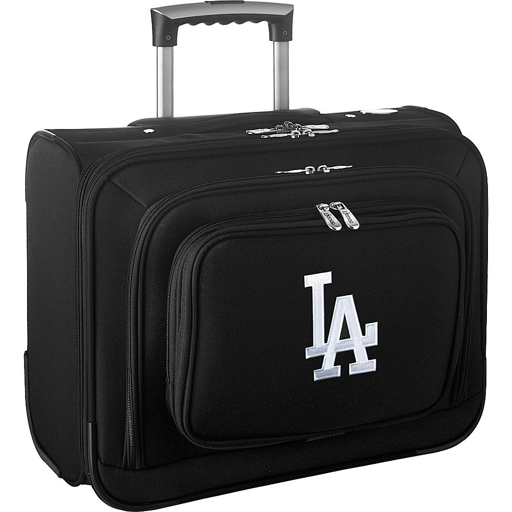 Denco Sports Luggage MLB 14 Laptop Overnighter Los Angeles Dodgers - Denco Sports Luggage Wheeled Business Cases - Work Bags & Briefcases, Wheeled Business Cases
