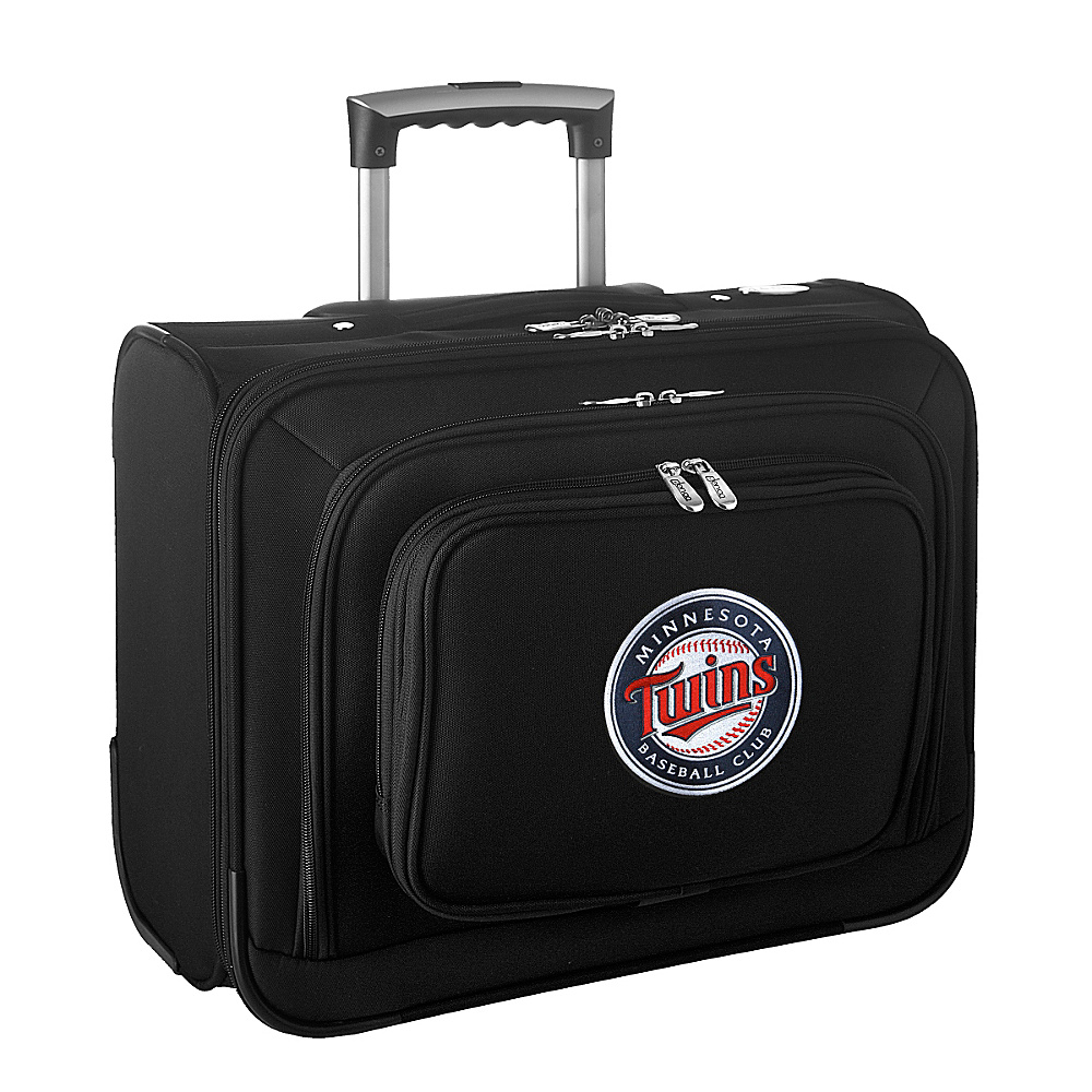 Denco Sports Luggage MLB 14 Laptop Overnighter Minnesota Twins - Denco Sports Luggage Wheeled Business Cases - Work Bags & Briefcases, Wheeled Business Cases