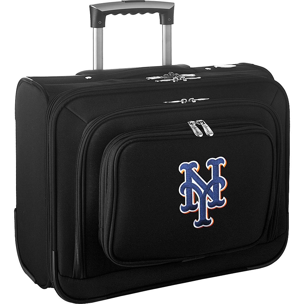 Denco Sports Luggage MLB 14 Laptop Overnighter New York Mets - Denco Sports Luggage Wheeled Business Cases - Work Bags & Briefcases, Wheeled Business Cases