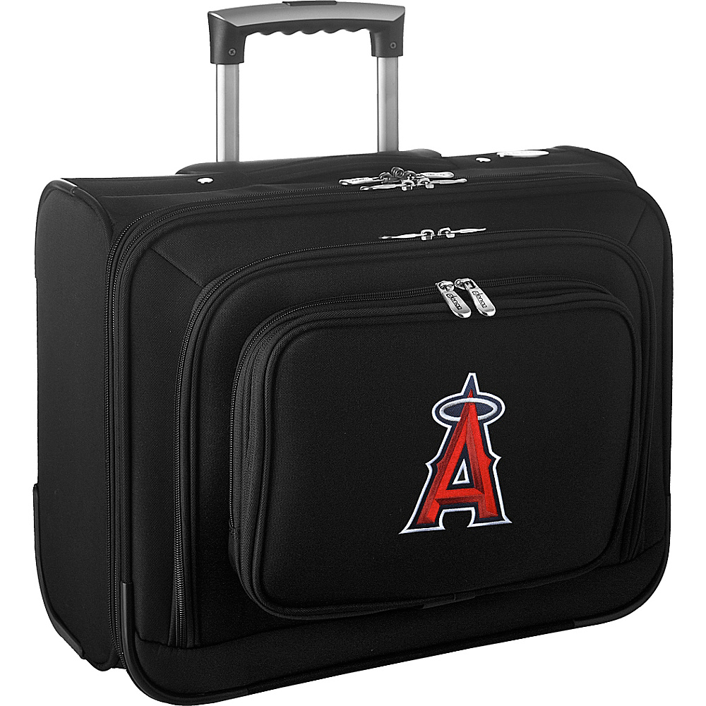 Denco Sports Luggage MLB 14 Laptop Overnighter Los Angeles Angels - Denco Sports Luggage Wheeled Business Cases - Work Bags & Briefcases, Wheeled Business Cases