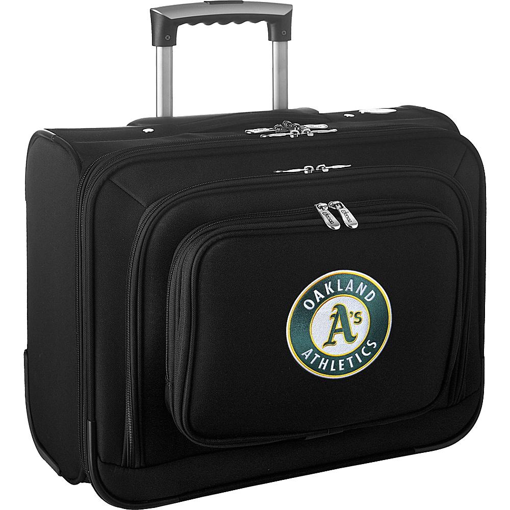 Denco Sports Luggage MLB 14 Laptop Overnighter Oakland As - Denco Sports Luggage Wheeled Business Cases - Work Bags & Briefcases, Wheeled Business Cases