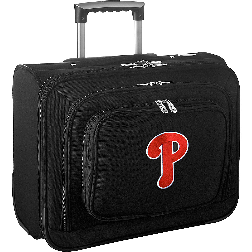 Denco Sports Luggage MLB 14 Laptop Overnighter Philadelphia Phillies - Denco Sports Luggage Wheeled Business Cases - Work Bags & Briefcases, Wheeled Business Cases