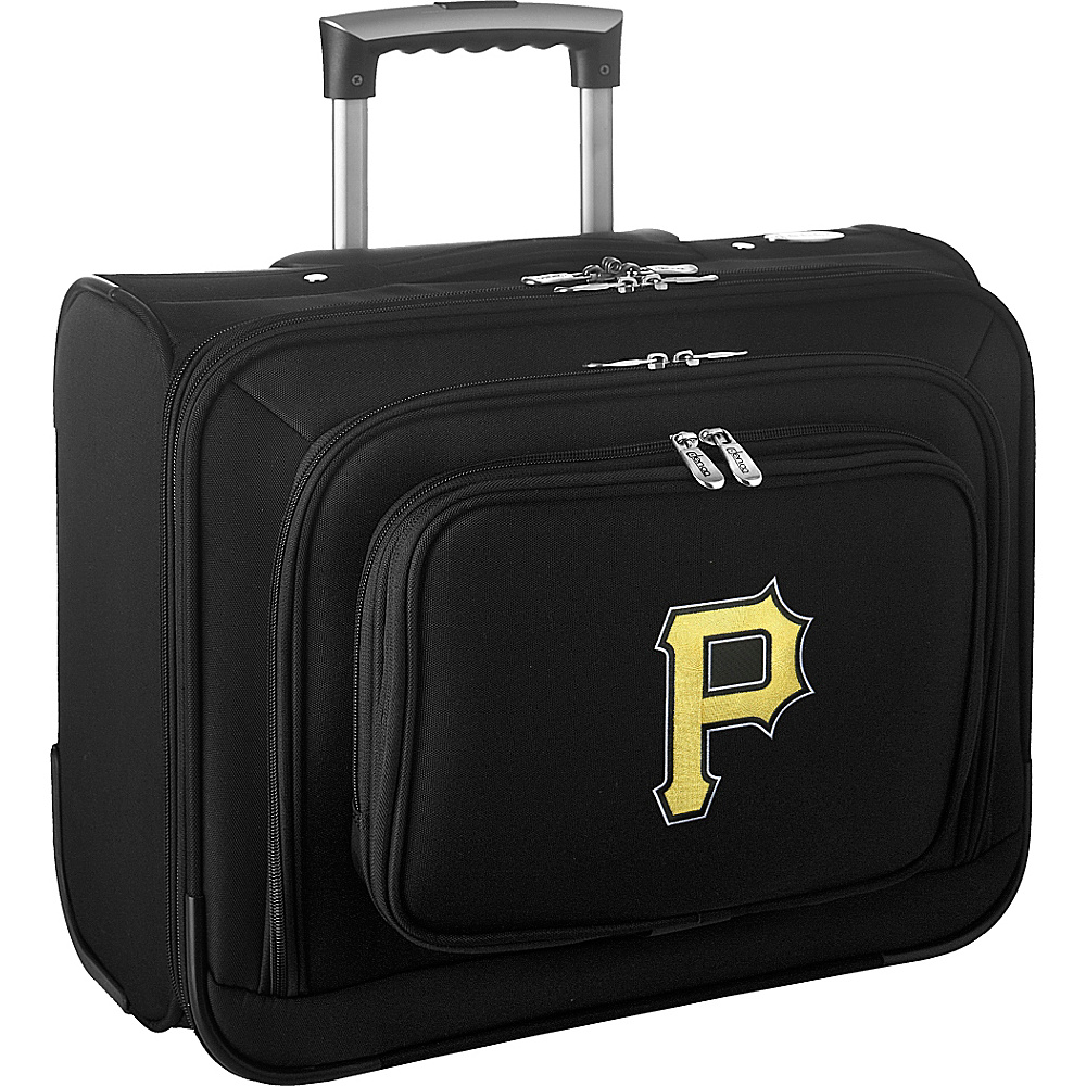 Denco Sports Luggage MLB 14 Laptop Overnighter Pittsburgh Pirates - Denco Sports Luggage Wheeled Business Cases - Work Bags & Briefcases, Wheeled Business Cases