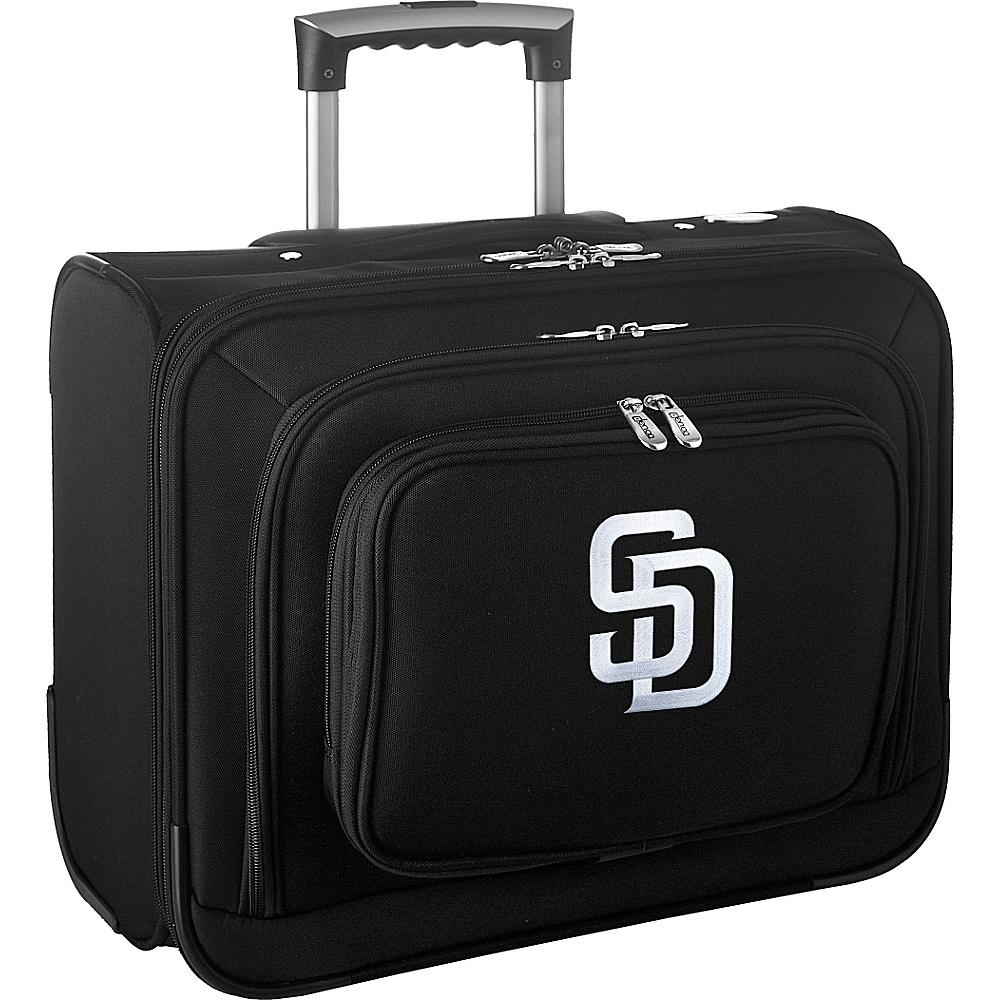 Denco Sports Luggage MLB 14 Laptop Overnighter San Diego Padres - Denco Sports Luggage Wheeled Business Cases - Work Bags & Briefcases, Wheeled Business Cases