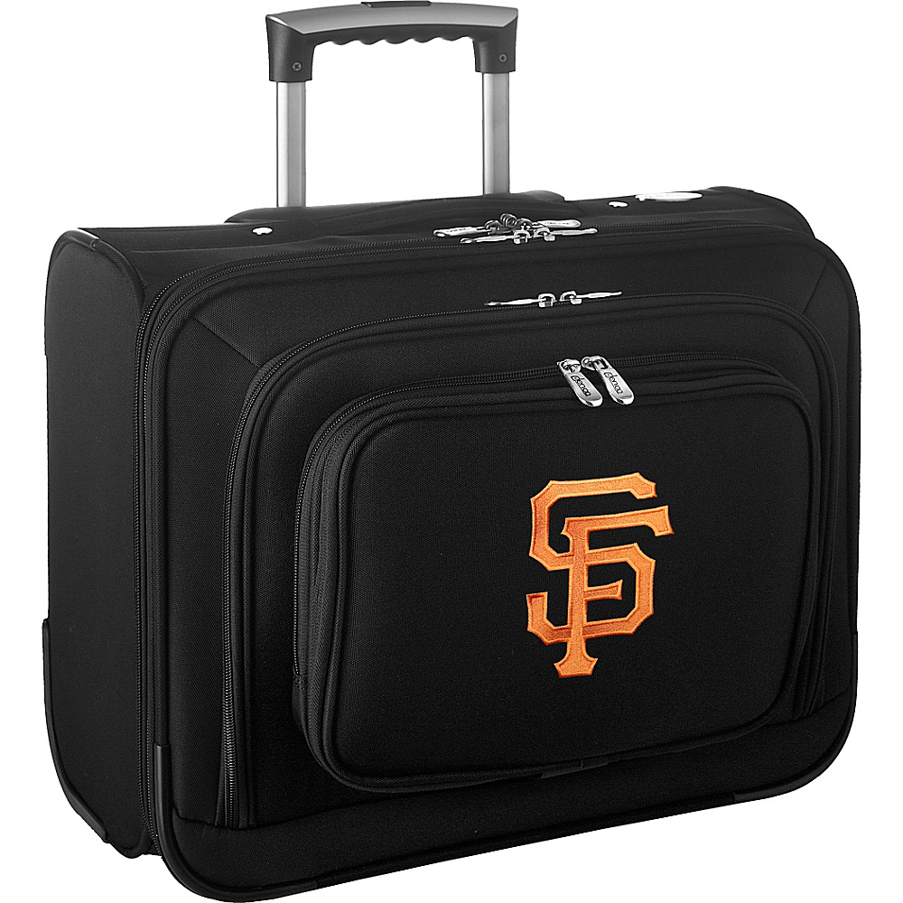 Denco Sports Luggage MLB 14 Laptop Overnighter San Francisco Giants - Denco Sports Luggage Wheeled Business Cases - Work Bags & Briefcases, Wheeled Business Cases