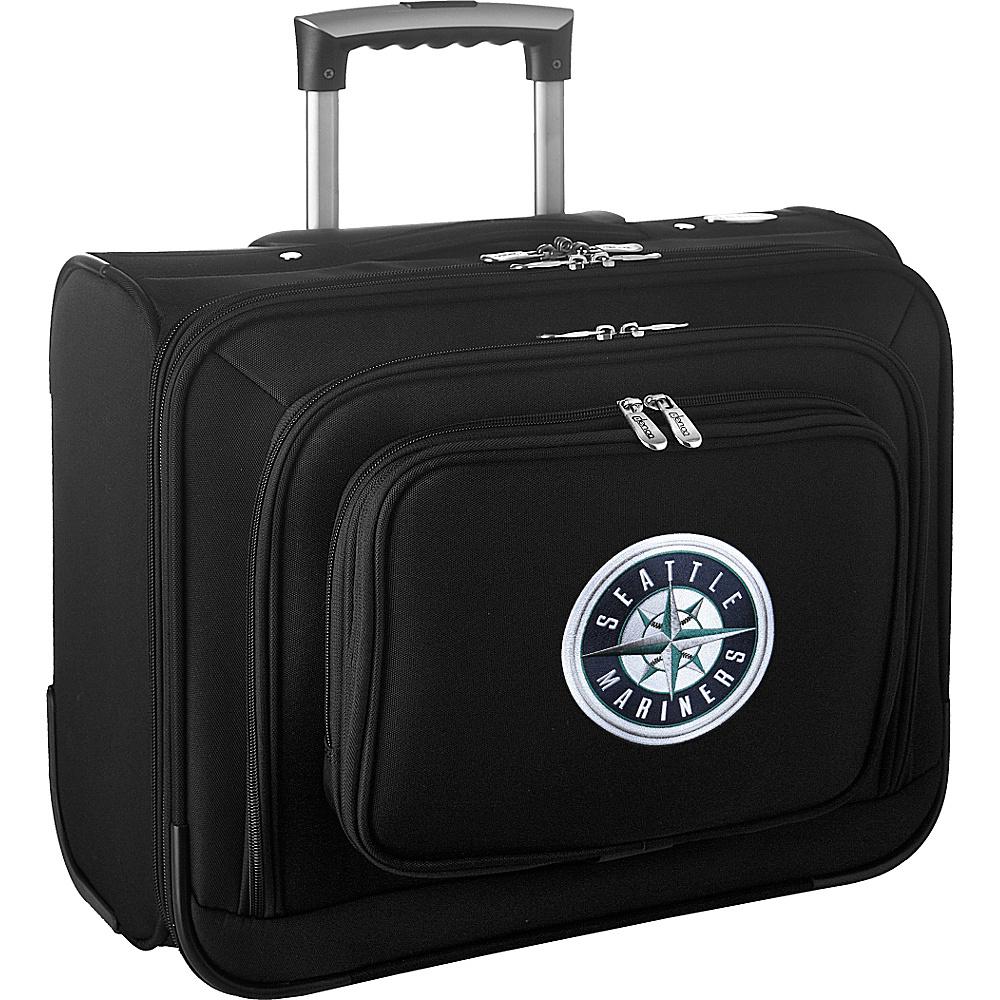 Denco Sports Luggage MLB 14 Laptop Overnighter Seattle Mariners - Denco Sports Luggage Wheeled Business Cases - Work Bags & Briefcases, Wheeled Business Cases