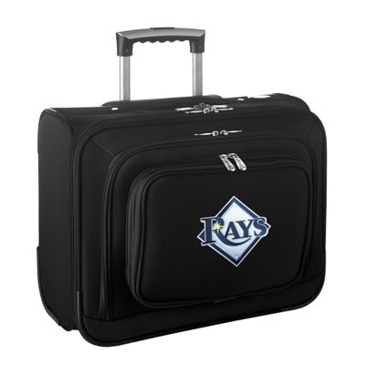 "Denco Sports Luggage MLB 14"""" Laptop Overnighter Tampa Bay Rays - Denco Sports Luggage Wheeled Business Cases"