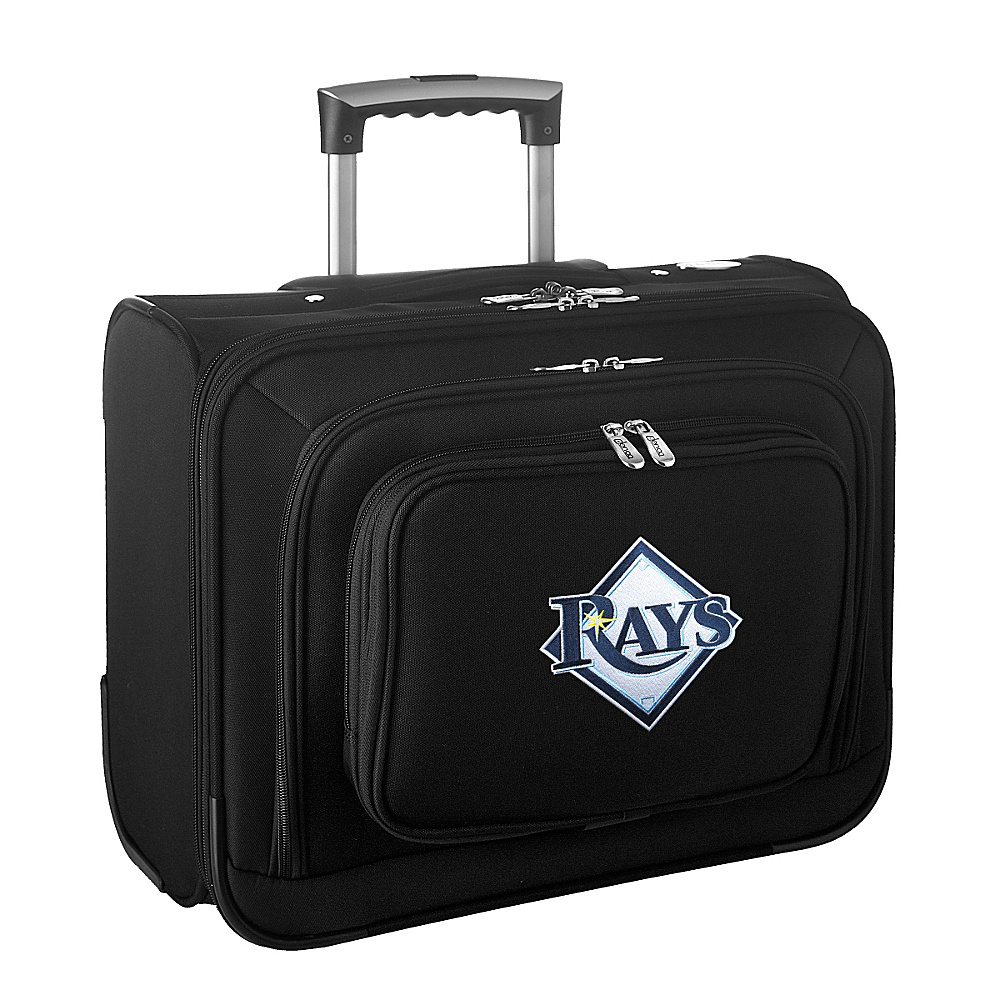 Denco Sports Luggage MLB 14 Laptop Overnighter Tampa Bay Rays - Denco Sports Luggage Wheeled Business Cases - Work Bags & Briefcases, Wheeled Business Cases