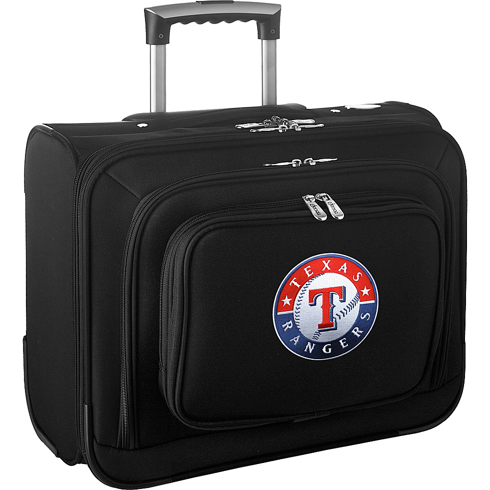 Denco Sports Luggage MLB 14 Laptop Overnighter Texas Rangers - Denco Sports Luggage Wheeled Business Cases - Work Bags & Briefcases, Wheeled Business Cases