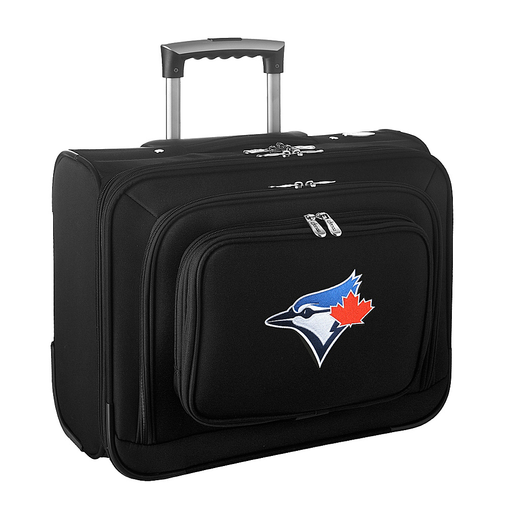 Denco Sports Luggage MLB 14 Laptop Overnighter Toronto Blue Jays - Denco Sports Luggage Wheeled Business Cases - Work Bags & Briefcases, Wheeled Business Cases