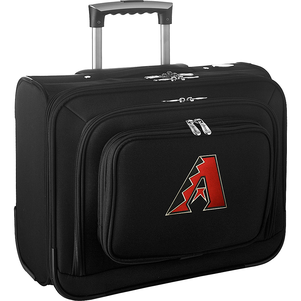 Denco Sports Luggage MLB 14 Laptop Overnighter Arizona Diamondbacks - Denco Sports Luggage Wheeled Business Cases - Work Bags & Briefcases, Wheeled Business Cases