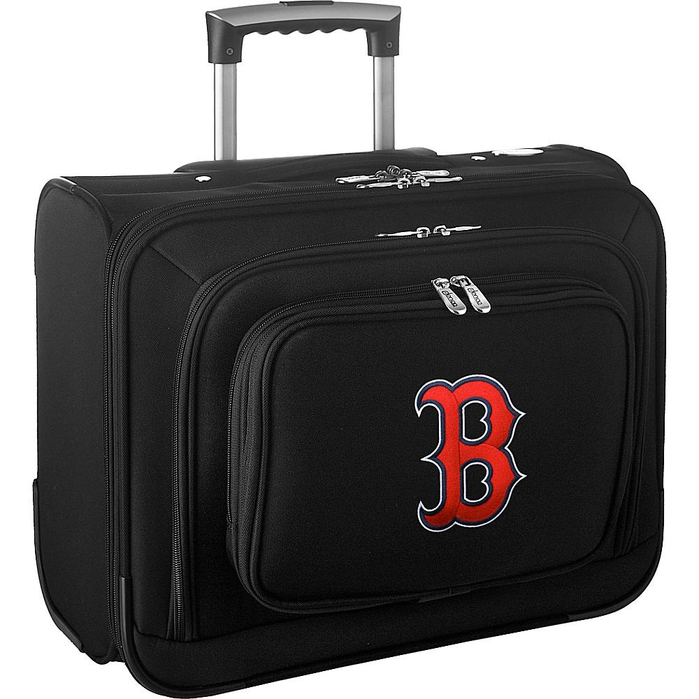 Denco Sports Luggage MLB 14 Laptop Overnighter Boston Red Sox - Denco Sports Luggage Wheeled Business Cases - Work Bags & Briefcases, Wheeled Business Cases
