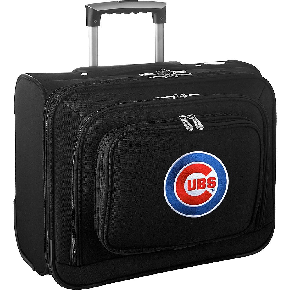 Denco Sports Luggage MLB 14 Laptop Overnighter Chicago Cubs - Denco Sports Luggage Wheeled Business Cases - Work Bags & Briefcases, Wheeled Business Cases