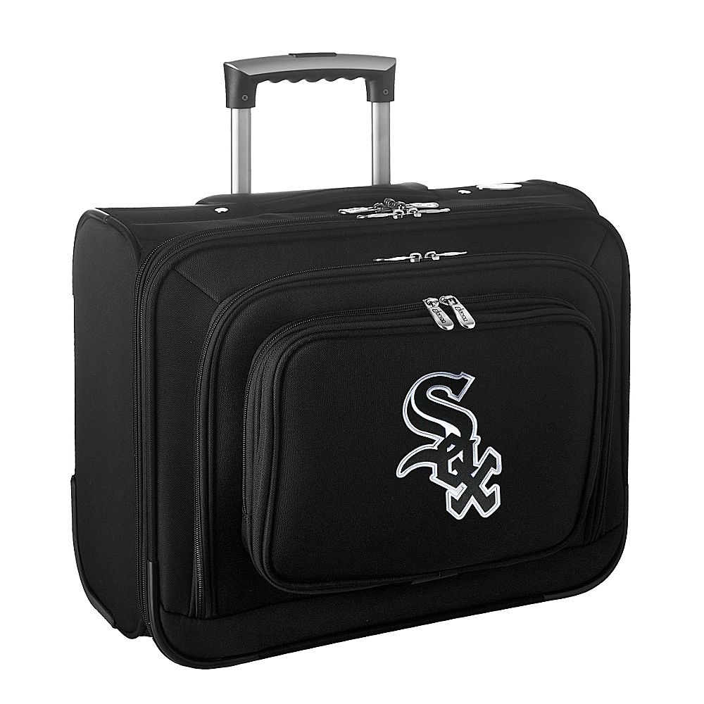 Denco Sports Luggage MLB 14 Laptop Overnighter Chicago White Sox - Denco Sports Luggage Wheeled Business Cases - Work Bags & Briefcases, Wheeled Business Cases