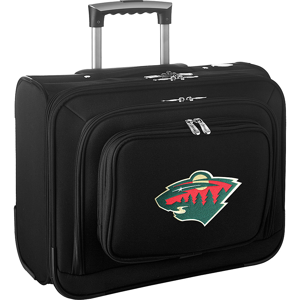 Denco Sports Luggage NHL 14 Laptop Overnighter Minnesota Wild - Denco Sports Luggage Wheeled Business Cases - Work Bags & Briefcases, Wheeled Business Cases