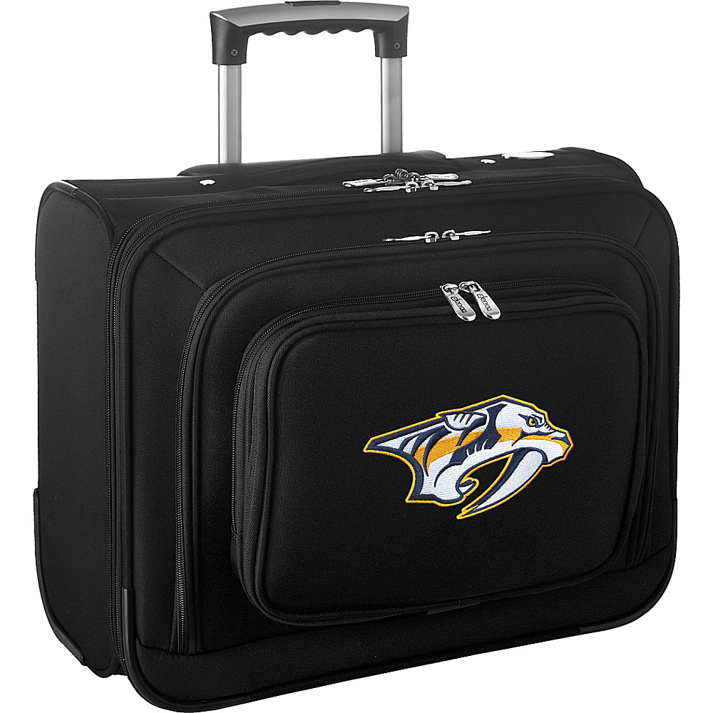 Denco Sports Luggage NHL 14 Laptop Overnighter Nashville Predators - Denco Sports Luggage Wheeled Business Cases - Work Bags & Briefcases, Wheeled Business Cases