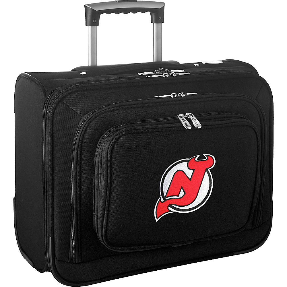 Denco Sports Luggage NHL 14 Laptop Overnighter New Jersey Devils - Denco Sports Luggage Wheeled Business Cases - Work Bags & Briefcases, Wheeled Business Cases