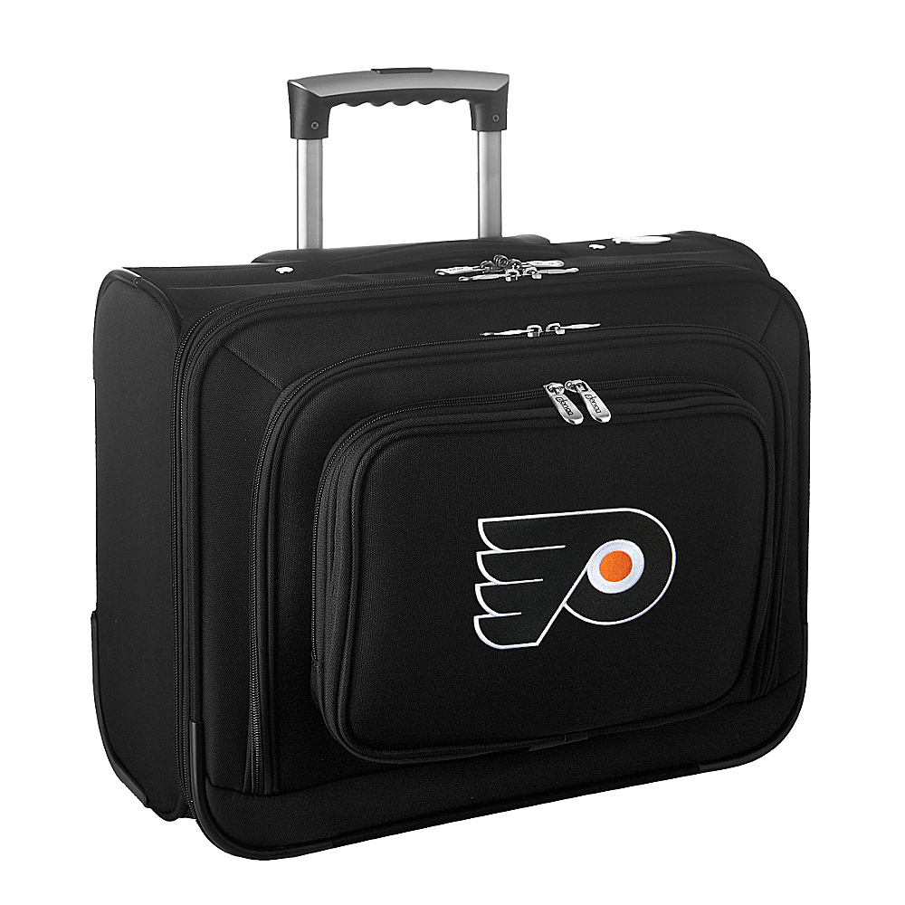 Denco Sports Luggage NHL 14 Laptop Overnighter Philadelphia Flyers - Denco Sports Luggage Wheeled Business Cases - Work Bags & Briefcases, Wheeled Business Cases