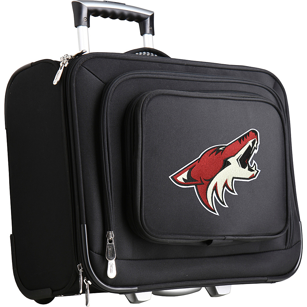 Denco Sports Luggage NHL 14 Laptop Overnighter Phoenix Coyotes - Denco Sports Luggage Wheeled Business Cases - Work Bags & Briefcases, Wheeled Business Cases
