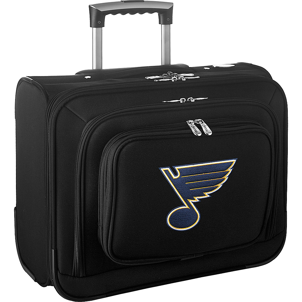 Denco Sports Luggage NHL 14 Laptop Overnighter St Louis Blues - Denco Sports Luggage Wheeled Business Cases - Work Bags & Briefcases, Wheeled Business Cases
