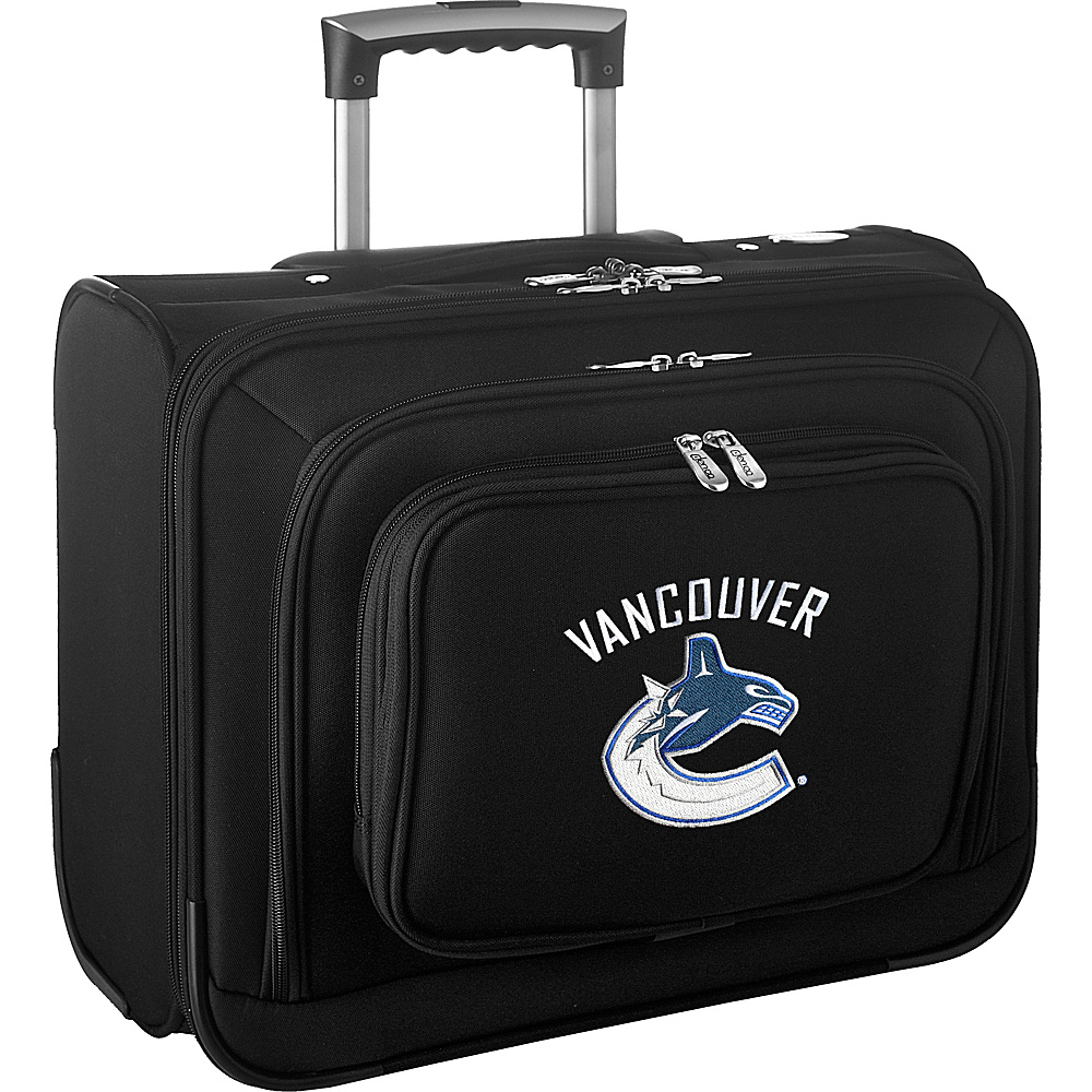 Denco Sports Luggage NHL 14 Laptop Overnighter Vancouver Canucks - Denco Sports Luggage Wheeled Business Cases - Work Bags & Briefcases, Wheeled Business Cases