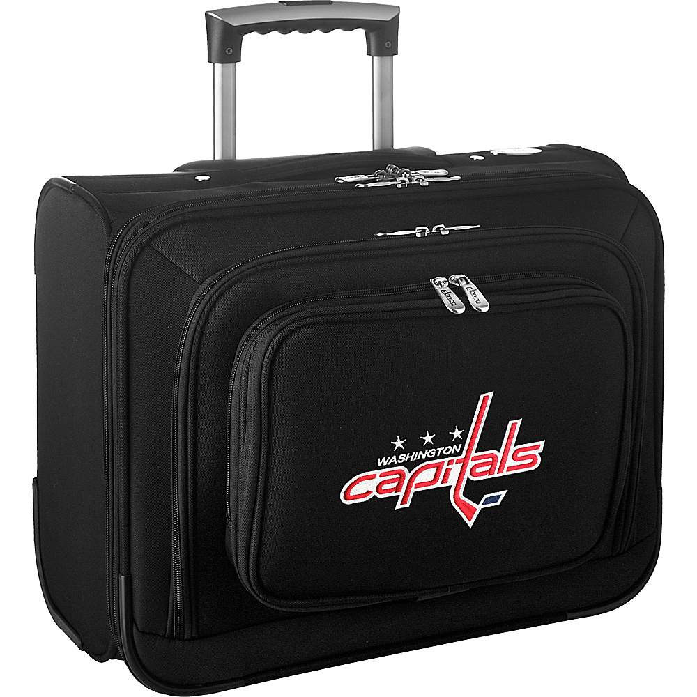 Denco Sports Luggage NHL 14 Laptop Overnighter Washington Capitals - Denco Sports Luggage Wheeled Business Cases - Work Bags & Briefcases, Wheeled Business Cases