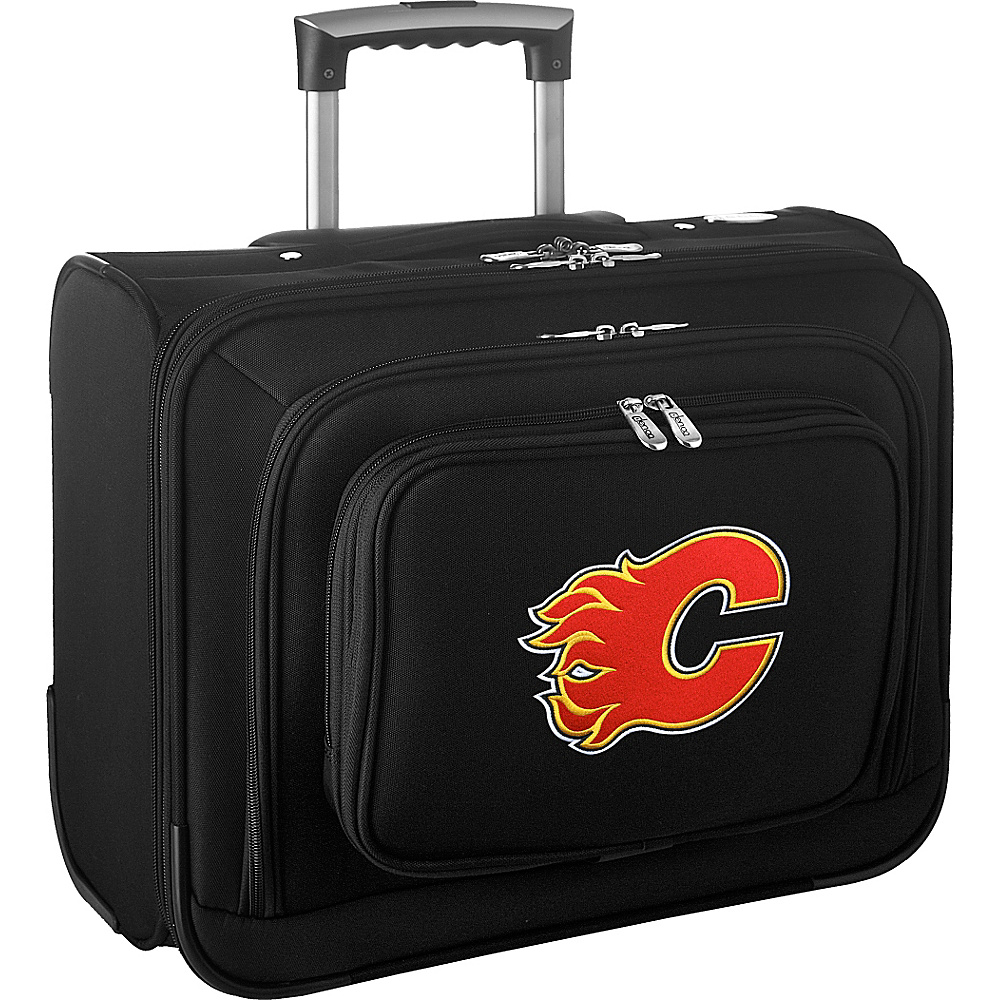 Denco Sports Luggage NHL 14 Laptop Overnighter Calgary Flames - Denco Sports Luggage Wheeled Business Cases - Work Bags & Briefcases, Wheeled Business Cases