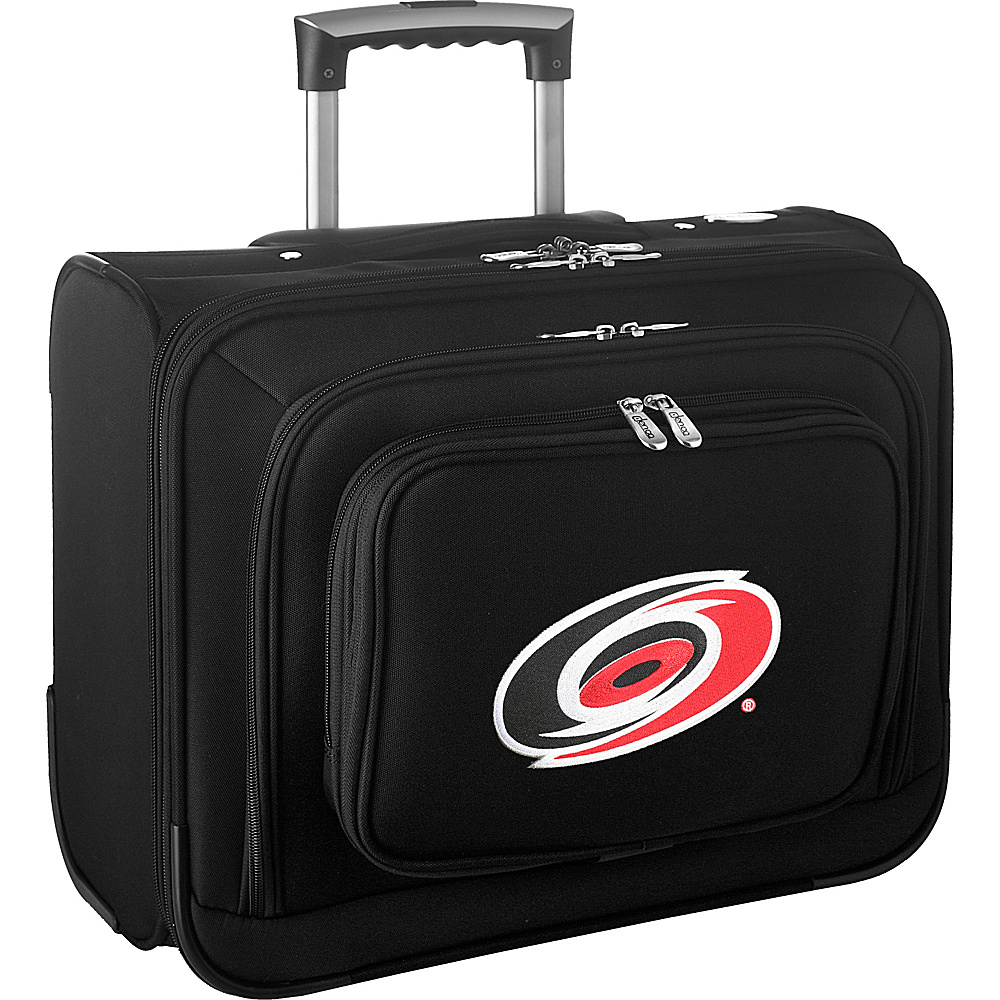 Denco Sports Luggage NHL 14 Laptop Overnighter Carolina Hurricanes - Denco Sports Luggage Wheeled Business Cases - Work Bags & Briefcases, Wheeled Business Cases