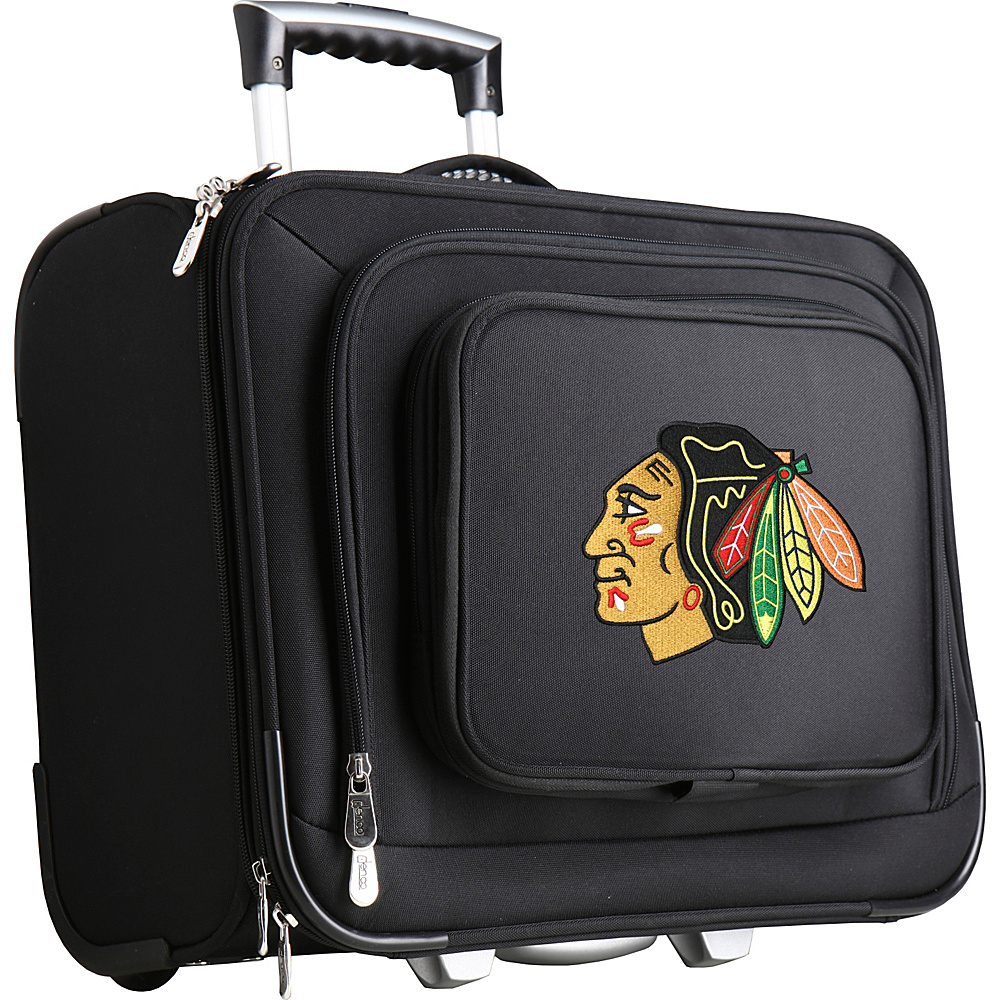 Denco Sports Luggage NHL 14 Laptop Overnighter Chicago Blackhawks - Denco Sports Luggage Wheeled Business Cases - Work Bags & Briefcases, Wheeled Business Cases