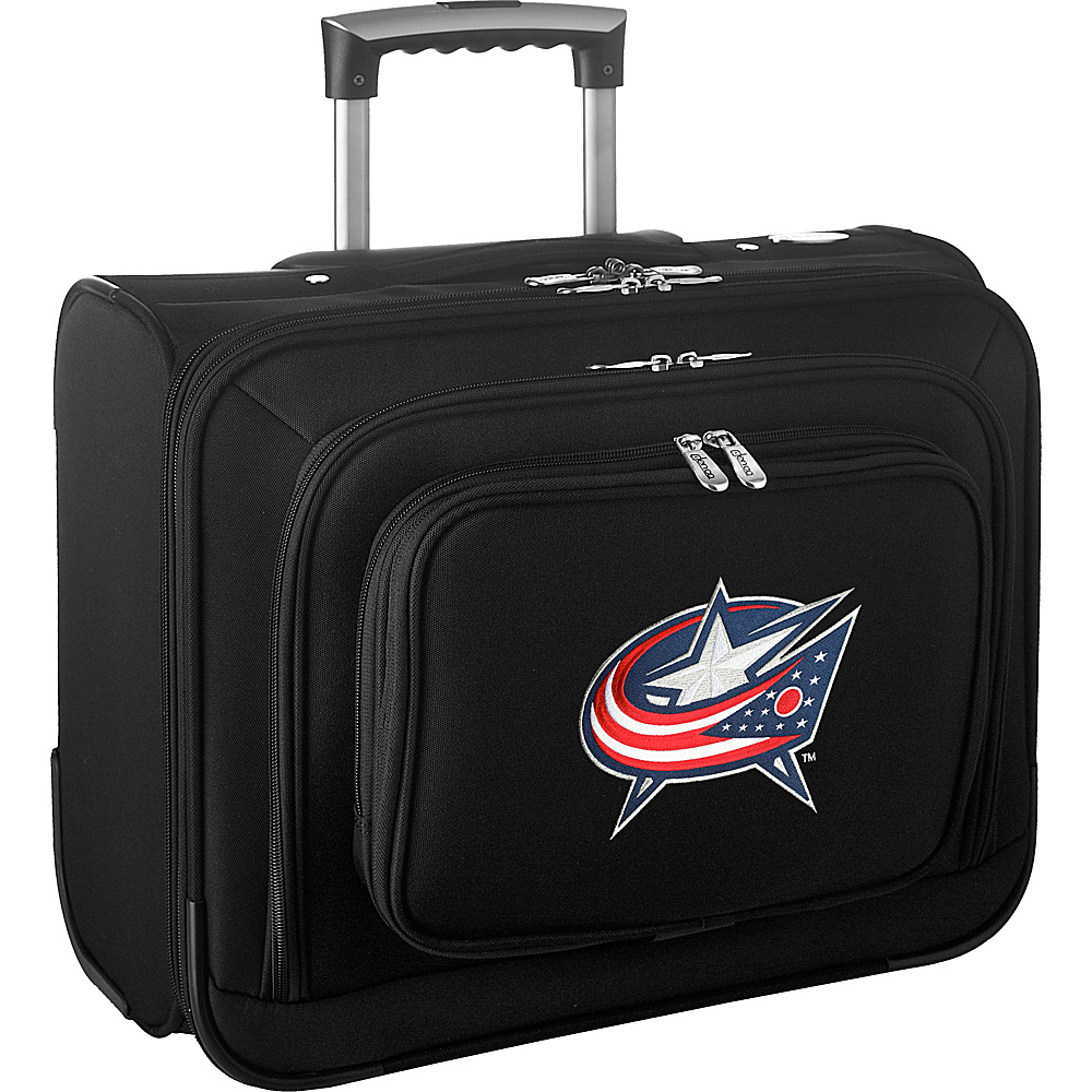 Denco Sports Luggage NHL 14 Laptop Overnighter Columbus Blue Jackets - Denco Sports Luggage Wheeled Business Cases - Work Bags & Briefcases, Wheeled Business Cases