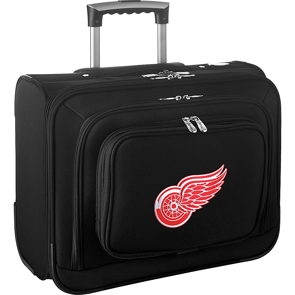 Denco Sports Luggage NHL 14 Laptop Overnighter Detroit Red Wings - Denco Sports Luggage Wheeled Business Cases - Work Bags & Briefcases, Wheeled Business Cases