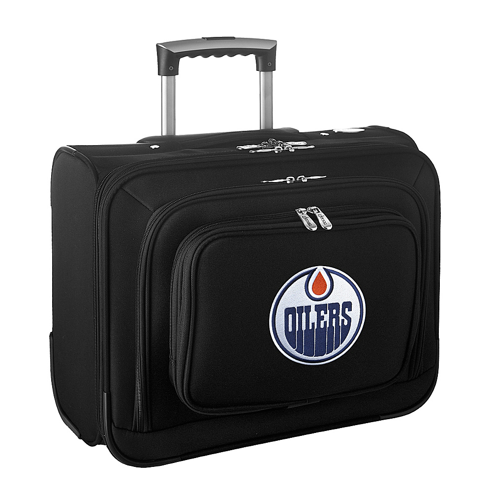 Denco Sports Luggage NHL 14 Laptop Overnighter Edmonton Oilers - Denco Sports Luggage Wheeled Business Cases - Work Bags & Briefcases, Wheeled Business Cases