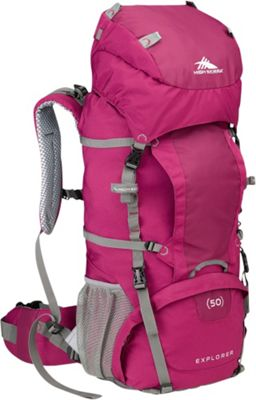 High Sierra Women's Explorer 50 Boysenberry/Boysenberry/Ash - High Sierra Day Hiking Backpacks