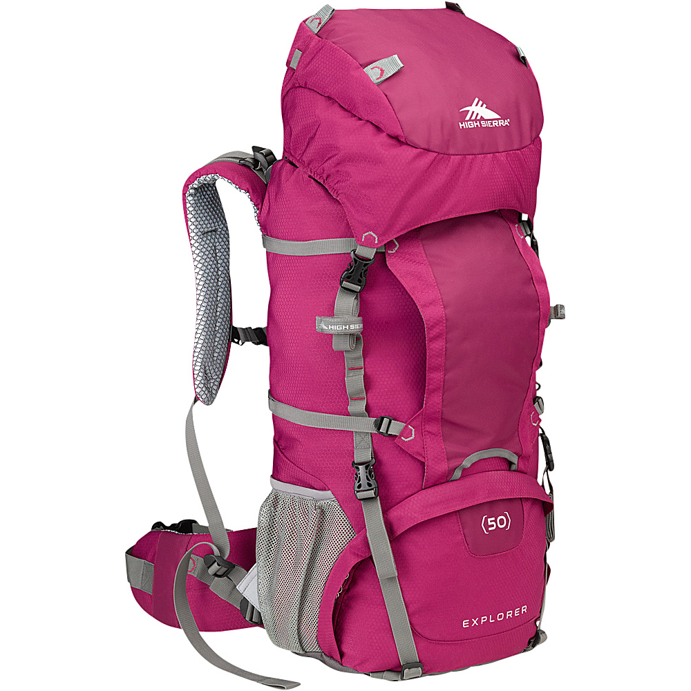High Sierra Women's Explorer 50 Boysenberry/Boysenberry/Ash - High Sierra Backpacking Packs