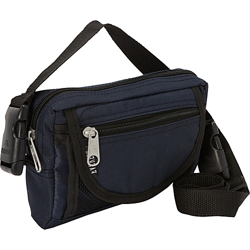 Everest Compact Utility Bag Navy - Everest Men's Bags