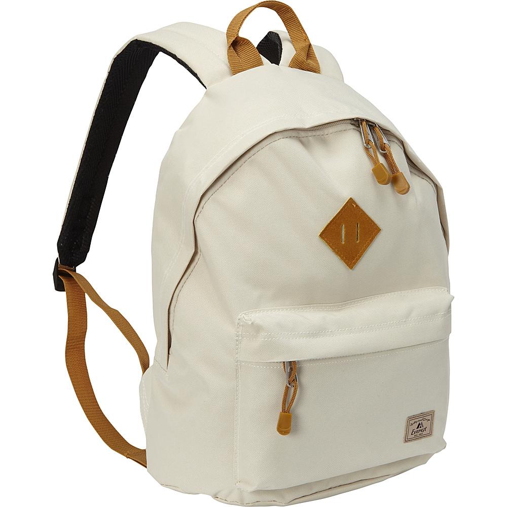Everest Vintage Backpack Beige - Everest Everyday Backpacks - Backpacks, Everyday Backpacks